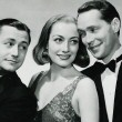 With Robert Young and Franchot Tone.