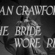 A title screen shot for 'The Bride Wore Red.'