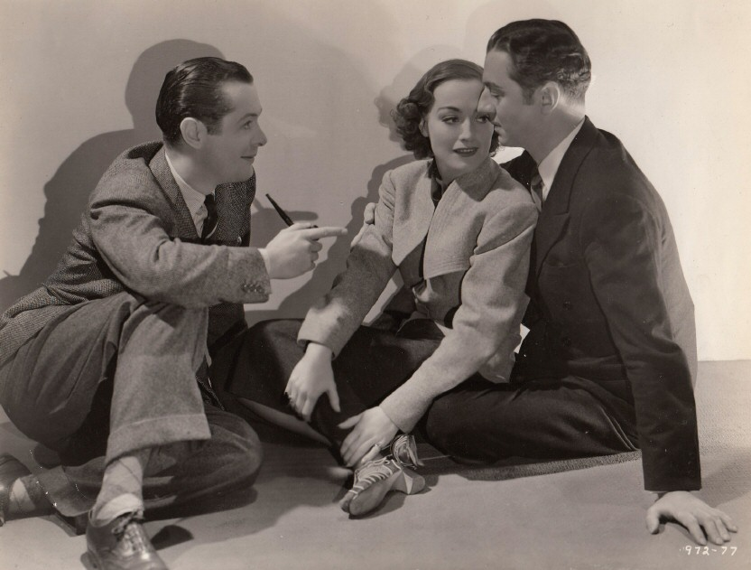 1937. 'The Last of Mrs. Cheyney.' With Robert Montgomery and William Powell.