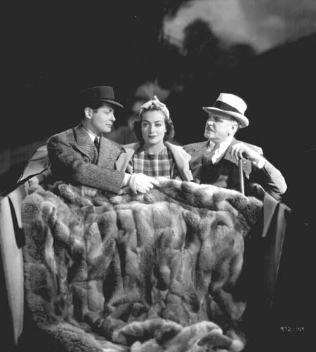 With Robert Montgomery and Frank Morgan.