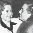 Circa 1937, with Barbara Stanwyck.
