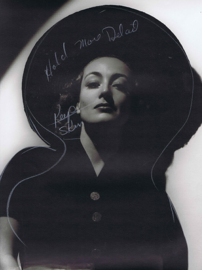 1937 publicity shot and marked up by Hurrell.