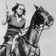 2/7/38. Joan plays polo.