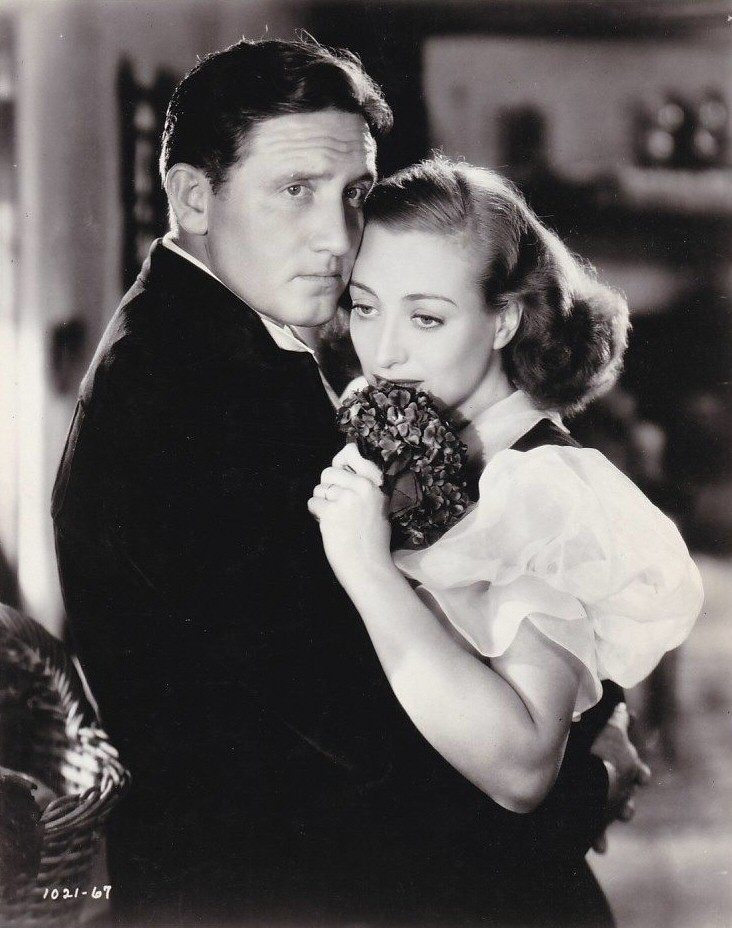 1938. 'Mannequin.' With Spencer Tracy.