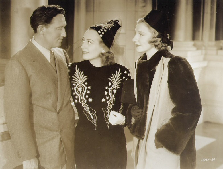1938. 'Mannequin.' With Spencer Tracy and Mary Philips (Bogart's wife).