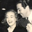 October 1938, on the 'Ice Follies' set with Cesar Romero.