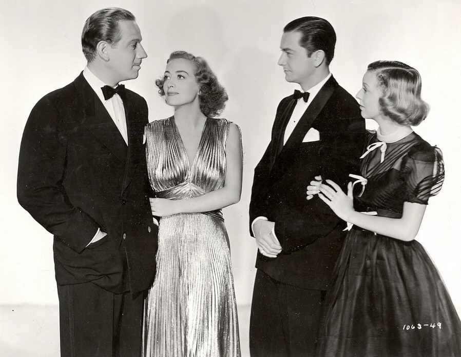1938. 'The Shining Hour.' With Melvyn Douglas, Robert Young, and Margaret Sullavan.