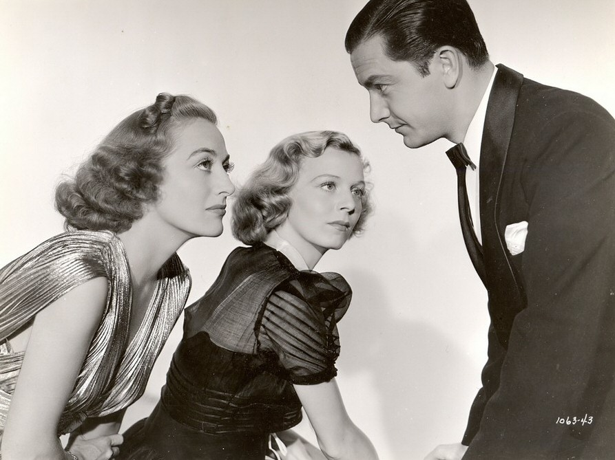 1938. 'The Shining Hour.' With Margaret Sullavan and Robert Young.