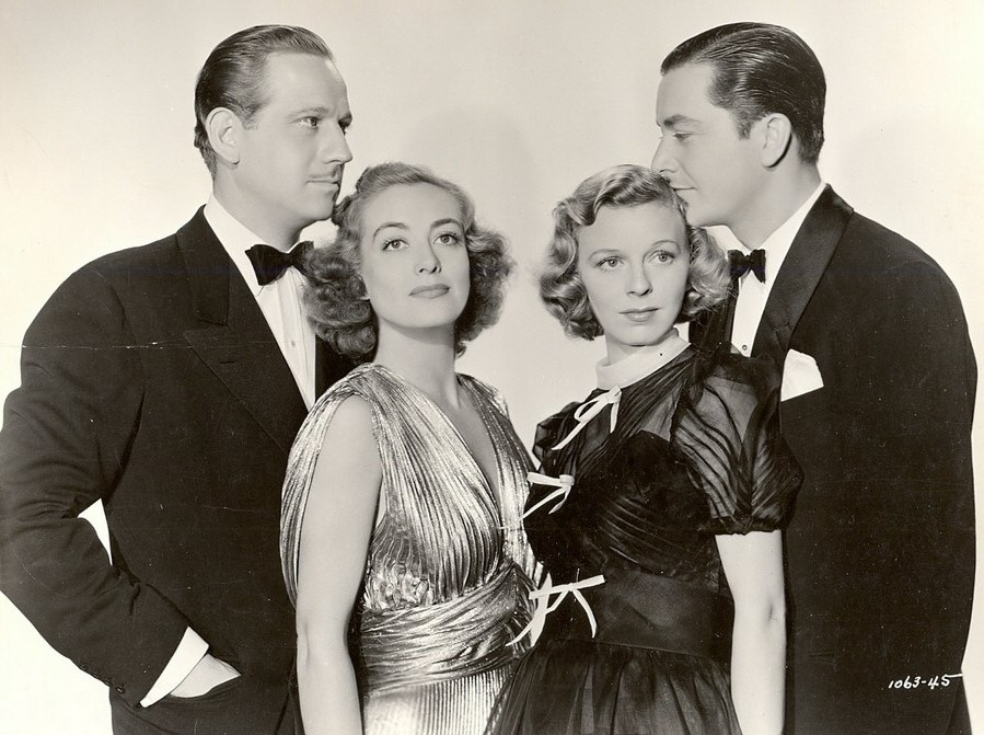 1938. 'The Shining Hour.' With Melvyn Douglas, Margaret Sullavan, and Robert Young.