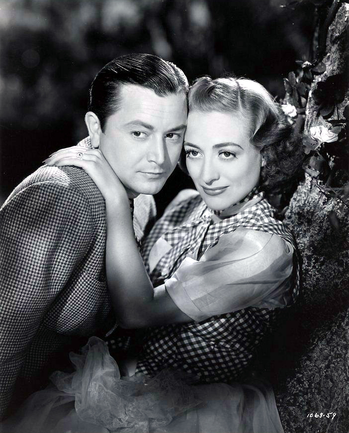 1938. 'The Shining Hour' with Robert Young. Shot by Frank Tanner.