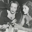 April 1939 at the Stork Club with socialite Brenda Frazier.