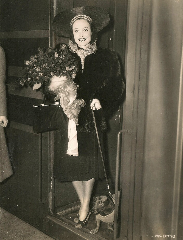 April 1939 at NYC's Grand Central Station, with Pupschen.