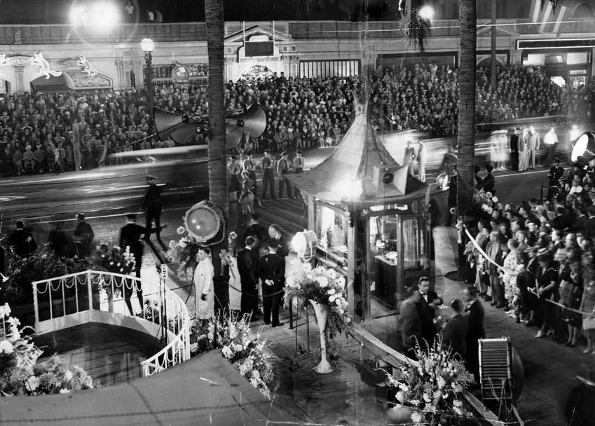 8/31/39. The premiere of 'The Women' at Grauman's in Los Angeles.