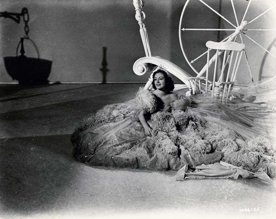 A film still from 'Ice Follies of 1939.'