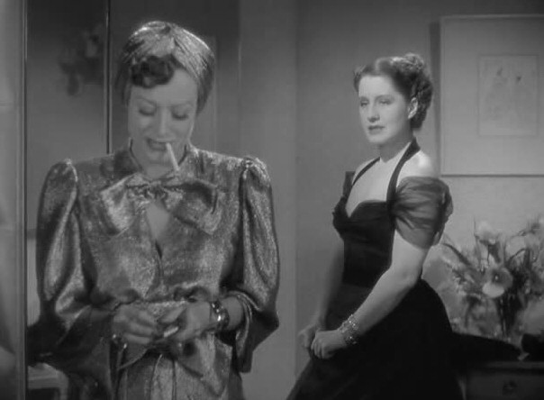 1939. 'The Women' screen shot with Norma Shearer.