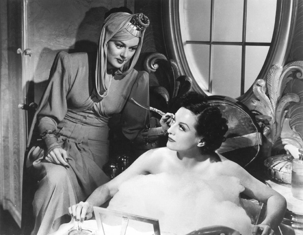 1939. 'The Women.' With Rosalind Russell.