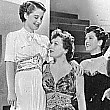 1939. Publicity for 'The Women,' with Norma Shearer, left, and Rosalind Russell.