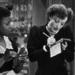 1939. 'The Women' screen shot with Butterfly McQueen, left.