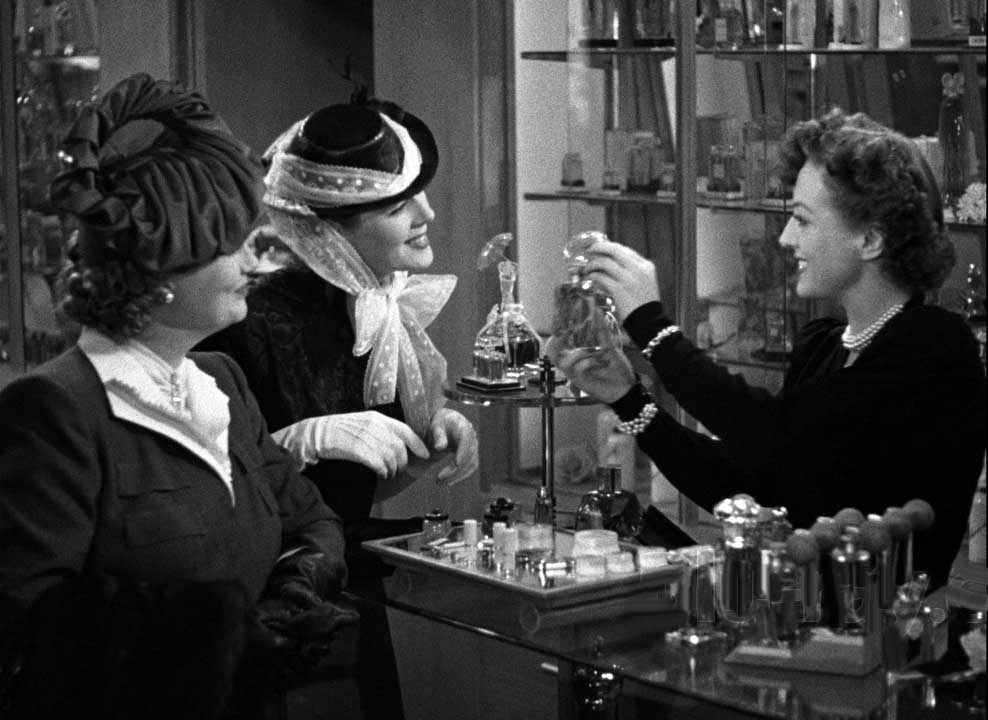 1939. Screen shot from 'The Women' with Rosalind Russell, center.