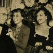 At 'The Women' premiere: LB Mayer, Paulette Goddard, Hunt Stromberg.