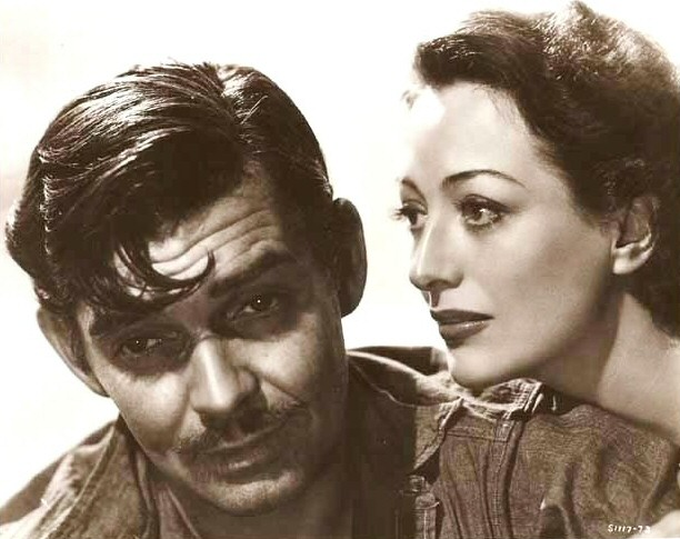 1940. 'Strange Cargo.' With Clark Gable.