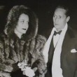 Jan. 2, 1940. In NYC with ex Franchot Tone at the play 'The Man Who Came to Dinner.'