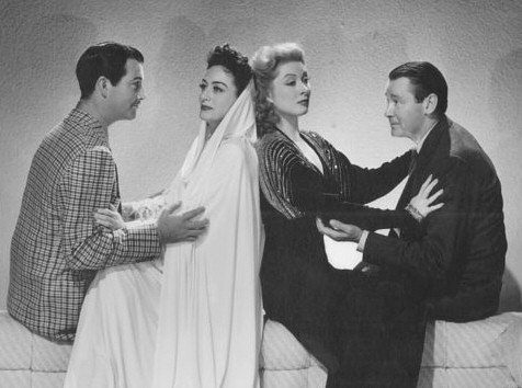 1941. 'When Ladies Meet.' With Robert Taylor, Greer Garson, Herbert Marshall. (Thanks to Susanne.)