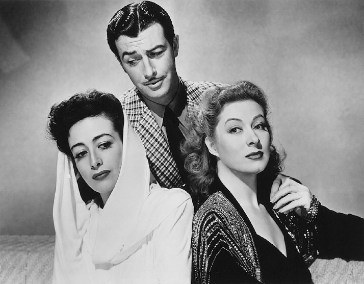 1941. 'When Ladies Meet.' With Robert Taylor and Greer Garson.