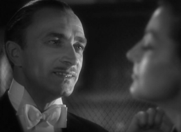 1941. 'A Woman's Face' screen shot with Conrad Veidt.