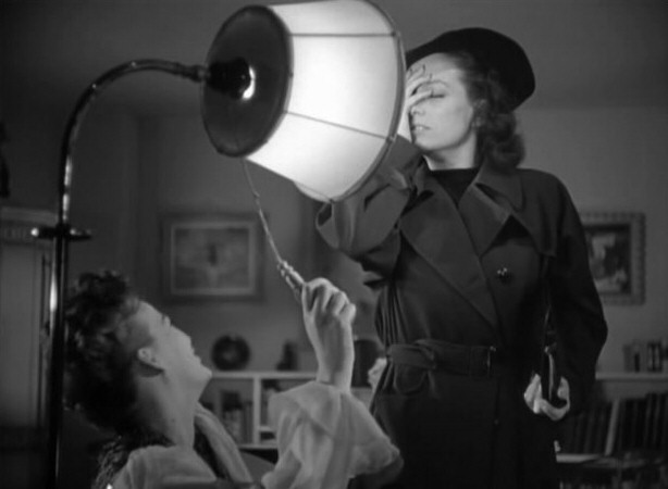 1941. Screen shot from 'A Woman's Face,' with Osa Massen.
