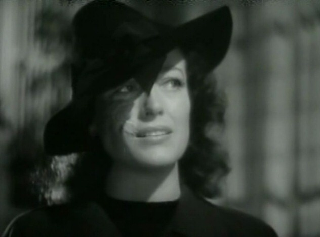 1941. A screen shot from 'A Woman's Face.'