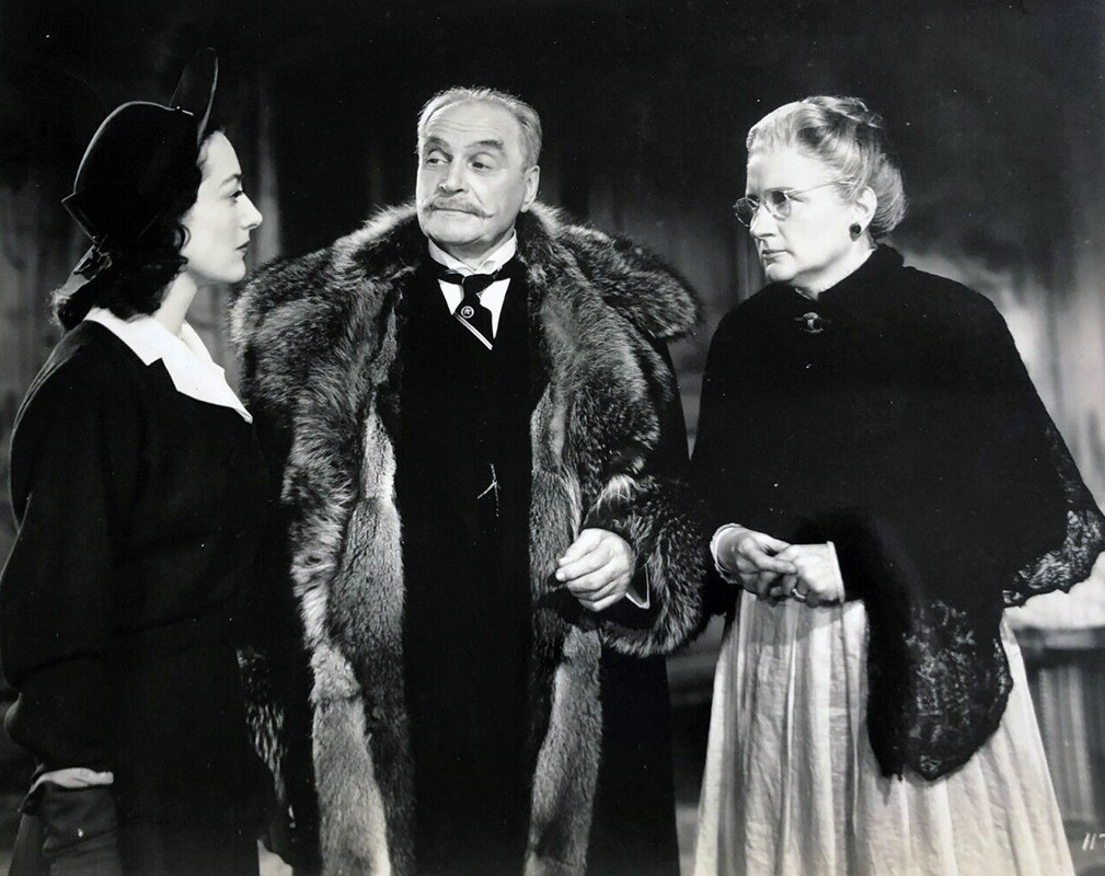 1941. 'A Woman's Face.' With Albert Bassermann and Marjorie Main.