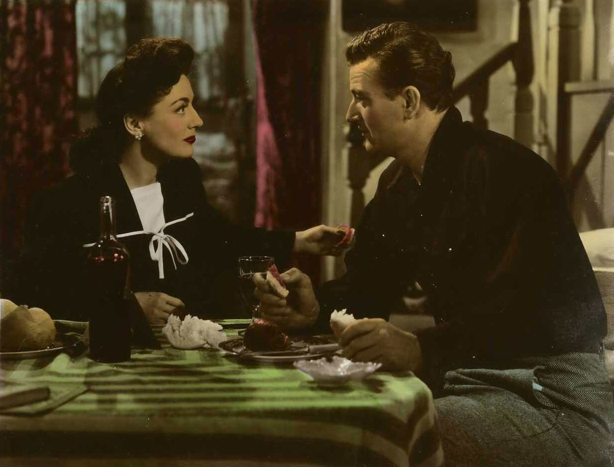 1942. 'Reunion in France.' With John Wayne.