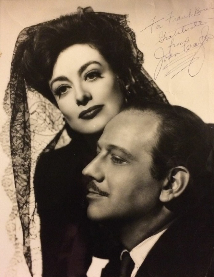 1942. Publicity for 'They All Kissed the Bride' with Melvyn Douglas.