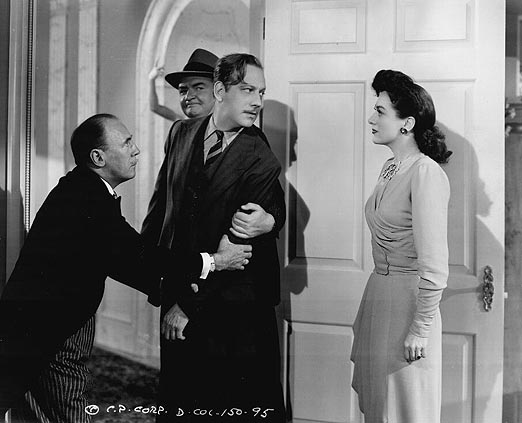 1942. With Melvyn Douglas.