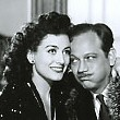 1942. Publicity shot for 'They All...', with Melvyn Douglas.