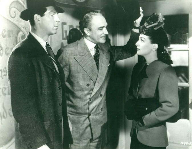 1943. 'Above Suspicion.' With Fred MacMurray and Conrad Veidt.