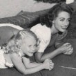 1945. With Christina at home.