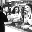 1945. 'Mildred Pierce.' With Ann Blyth, center, and Eve Arden.