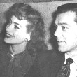 Circa 1945. With husband Phillip Terry.