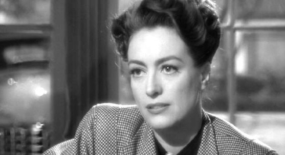 1945, 'Mildred Pierce' screen shot.