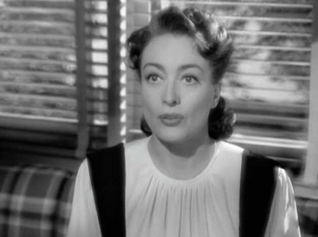 1945. Screen shot from 'Mildred Pierce.'