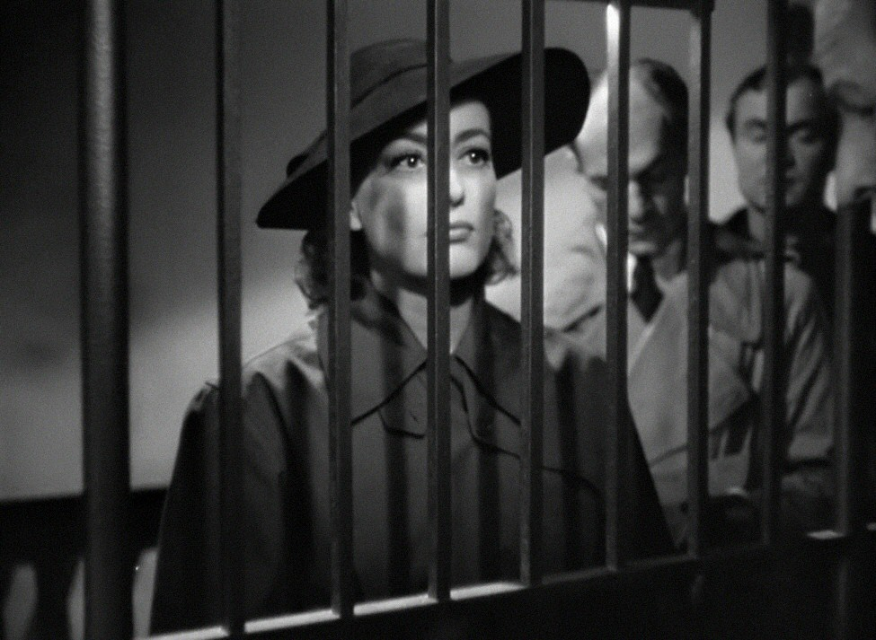 1945. 'Mildred Pierce' screen shot.