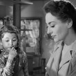 1945. 'Mildred Pierce' screen shot with Jo Ann Marlowe.