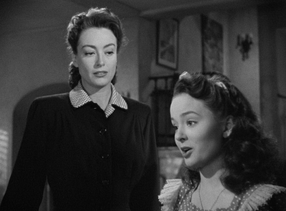 1945. 'Mildred Pierce.' With Ann Blyth.