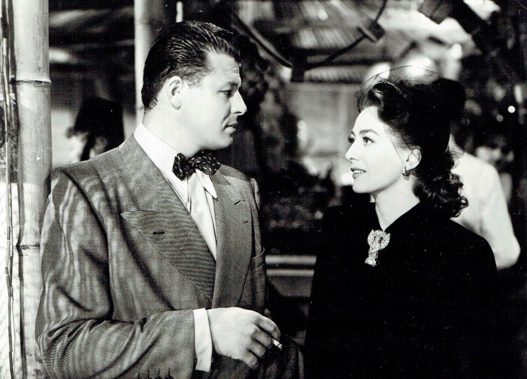 1945. 'Mildred Pierce.' With Jack Carson.
