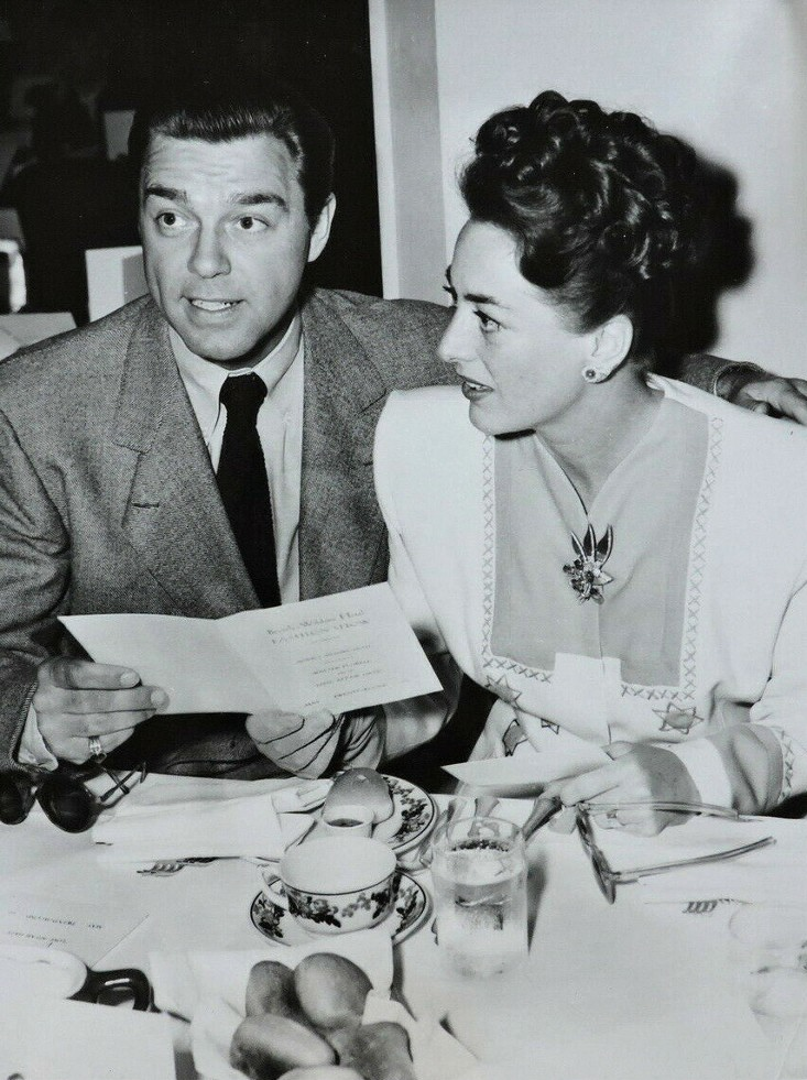 May 1945. At the Beverly Wilshire with husband Phil Terry.