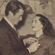 December 1945. With Gregory Peck. Receiving the Golden Apple Award.