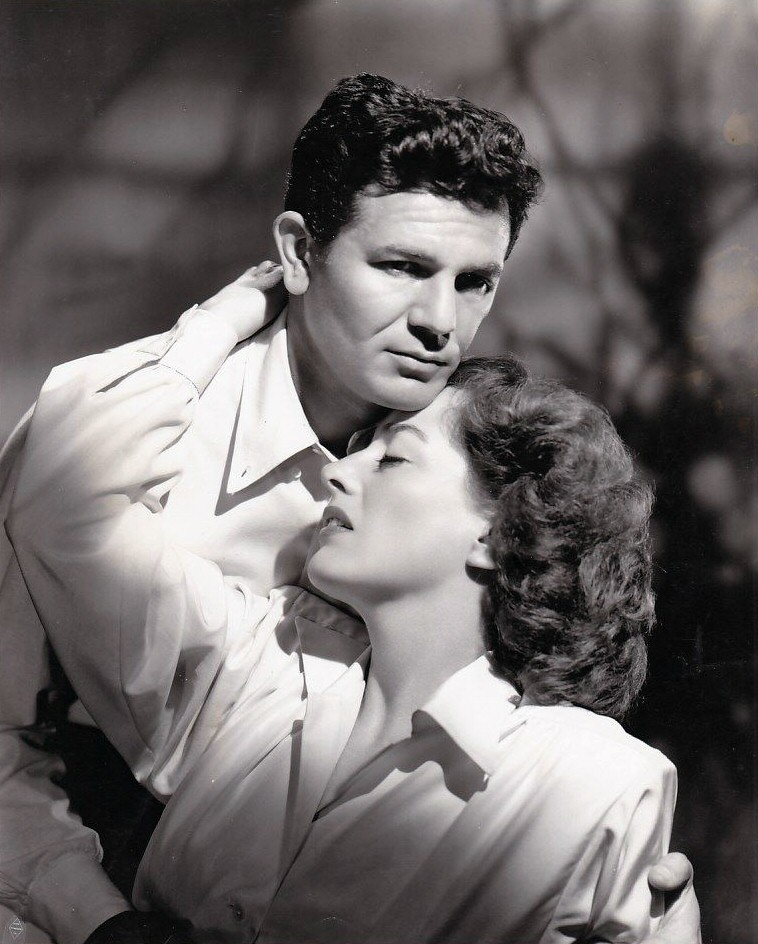 1946. 'Humoresque' publicity with John Garfield.