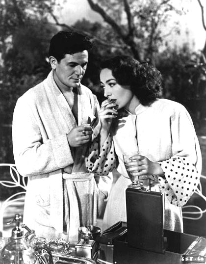 With John Garfield.